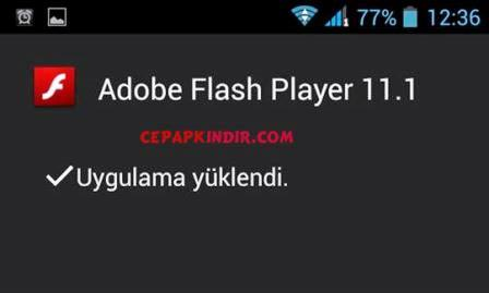 General Mobile Telefona Flash Player Nasıl İndirilir