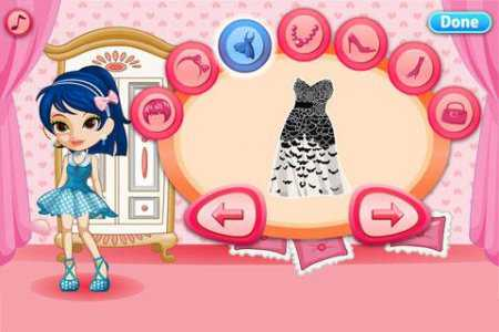 Dress Up Prom Night-Girls Game (Android Kız Oyunları)
