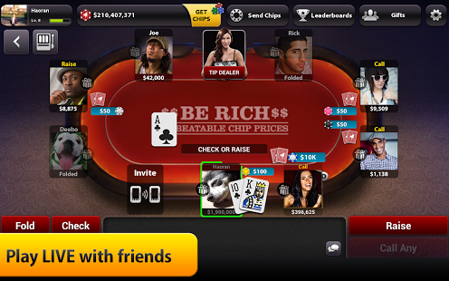 Poker oyunu yukle
