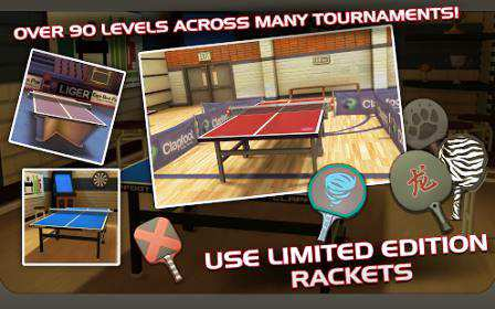 Masa Tenisi Android Oyunu