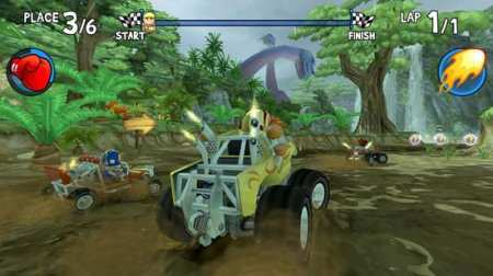 Beach Buggy Racing Android Oyunu