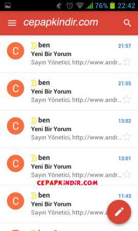 Gmail Android İndir