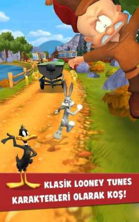 Looney Tunes Dash Android Oyunu