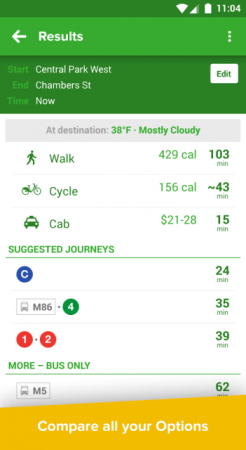 Citymapper - Subway Bus Bike