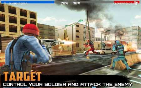 Android Aksiyon Oyunu - Rivals at War Firefight