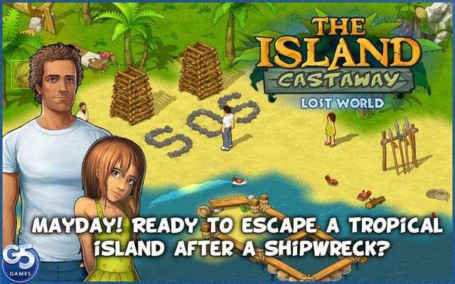 Скачать взломанную версию игры Island Castaway: Затерянный Мир v 1.4 Мод (м