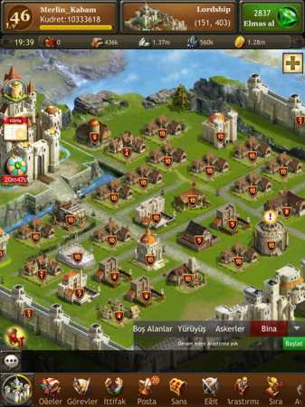 Kingdoms of Camelot: Battle Apk Strateji Oyunu