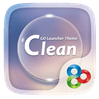 Clean GO Launcher Android Theme