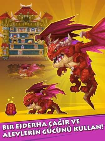 Monster Castle Android Strateji Oyunu