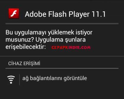 General Mobile Telefona Flash Player Nasıl İndirilir