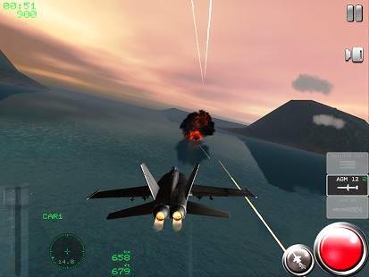 Air Navy Fighters Lite (Android Savaş Uçağı Oyunu)