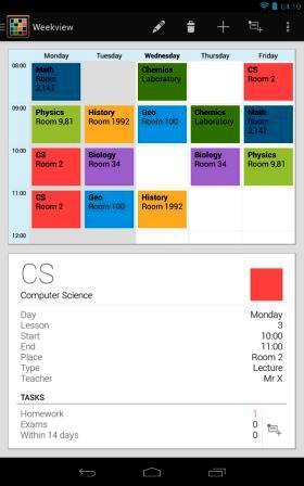 Timetable - Okul Bilgilerini Kaydetme Uygulaması İndir