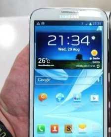 Samsung Galaxy Note 2 Programları