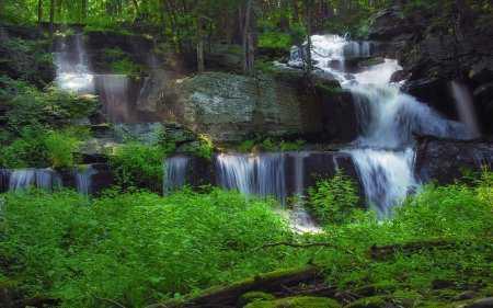 Şelale Resimleri(Waterfall) - Duvar Kağıtları - 3