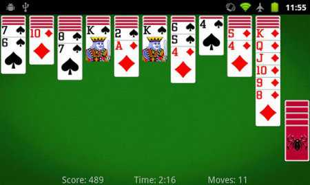 Spider Solitaire Android Oyun İndir