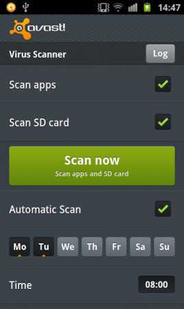 Mobile Security Antivirus AVAST Android