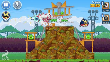 Angry Birds Friends Android Kızgın Kuşlar Facebook Oyunu
