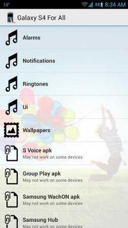 Galaxy S4 For All (Samsung Galaxy S4 Uygulamaları)