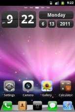 Theme iPhone - Android Cihazlara iPhone Teması