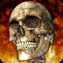 Hellfire Skeleton Free - Android Yanan İskelet Duvar Kağıdı