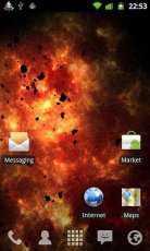 Inferno Galaxy - Android Galaksi Duvar Kağıdı
