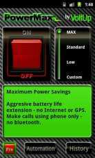 PowerMax (Android Batarya Süresi Uzatma)
