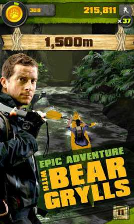 Survival Run with Bear Grylls (Android Ayıdan Kaçış Oyunu)