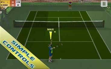 Cross Court Tennis Free (Android Tenis Oyunu)