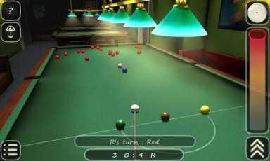 Android Bilardo Oyunu (3D Pool game - 3ILLIARDS Free)