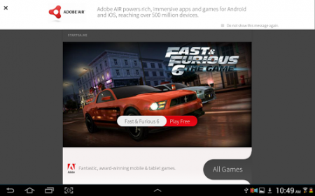 Adobe Air Android