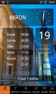 Ezan ve Namaz Saati Klasik (Android Ezan Uygulaması)