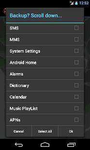 My Backup Telefon Yedek Alma Programı