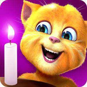 Ginger's Birthday (Android Konuşan Kedi Oyunu)