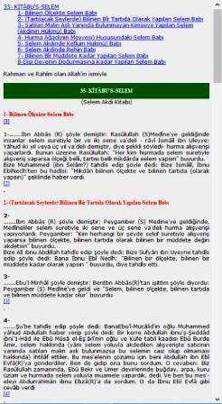 Android Buhari Türkçe Hadis Kitabı indir