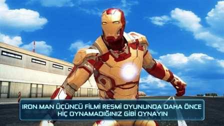 Iron Man 3 - Resmi oyun Apk İndir