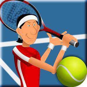 Android Tenis oyunu Stick Tennis Apk indir