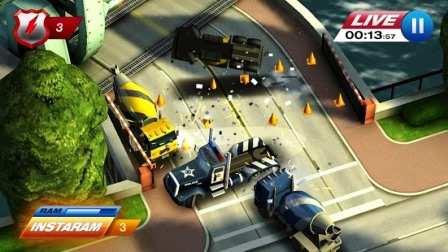 Android Aksiyon Yarış Oyunu Smash Cops Heat