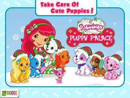 Çilek Kız Yavru Köpek Sarayıni