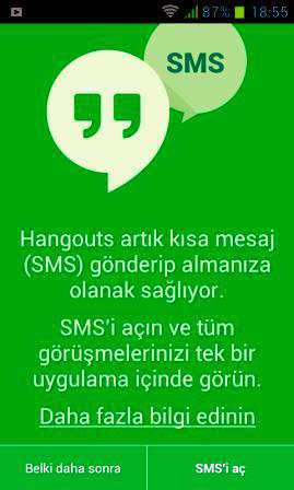 Hangouts Android İndir