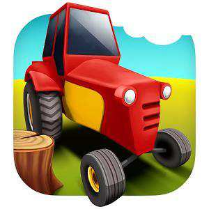 Android Traktör Oyunu Lumberjack Driver Simulator Apk İndir