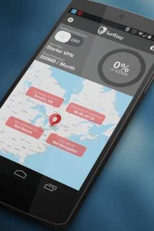 Android için SurfEasy VPN