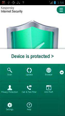 Kaspersky Antivirüs Security Android