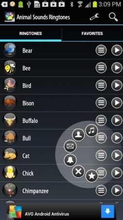 Animal Sounds Ringtones ( Android Hayvan Zil Sesleri )