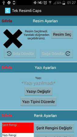 Caps Yapıcı Android