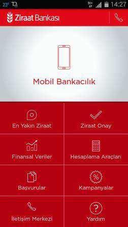 Ziraat Mobil Android