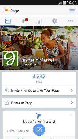 Facebook Sayfa Yöneticisi Apk İndir