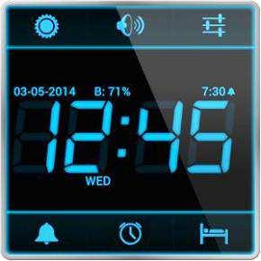 Dijital Alarm Saati Android