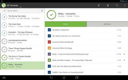 µTorrent - Torrent Downloader Apk