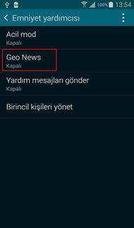 S5 Geo News Ayarlama Resimli Anlatım