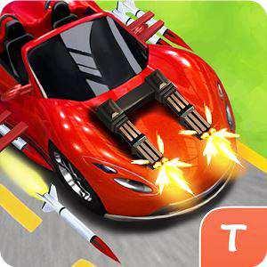 Android Silahlı Araba Yarış Oyunu